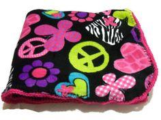 Neon Peace Sign Butterflies Flowers and Hearts Blanket with Hot Pink Crochet Edge https://www.etsy.com/treasury/NTM5ODkzNXwyNzI0NzM1MTYy/cosmic-neon