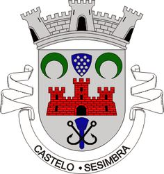 Castelo (Sesimbra) - (Brasão, Coat of arms)