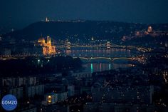 Budapest marvelous night view, Hungary