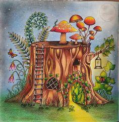 #florestaencantada #jardimsecreto #johannabasford #oceanoperdido #lostocean @lehroinspire