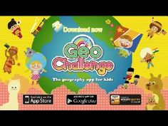 Geo Challenge - Flags, Maps and Geography Learning Game for Kids