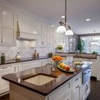 1st Place, National Design Award Winning Kitchen.Remodeling in Warwick, NY. From a dark, un-inspiring kitchen (see before photos), to a bright, white, custom