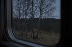 Stockholm-Lulea train. Sweden. 04/2017. © Thomas Dworzak / Magnum Photos