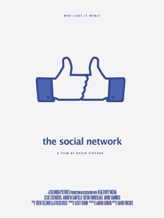 "Minimalist Movie Poster |  ""The Social Network"" (2010)"
