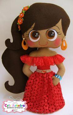 Boneca Princesa Elena de Avalor | Cris Arteira | Elo7