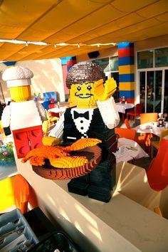 Hotel de Lego reúne mais de três milhões de peças do brinquedo