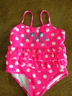Monogram bathingsuit