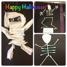 mummy halloween art