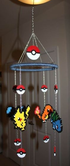 This will be my future child's mobile for their crib :3