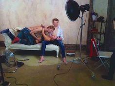 BackStage Яна Calvin Klein Фотосессия / by Fashion Channel / Life Dream ...