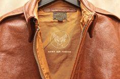 buzz rickson's A-2 flight jacket - cowhide