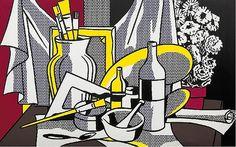 Roy Lichtenstein - Still Life with Palette, 1972