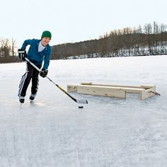 Build a Pond Hockey Goal | Crafts | Spoonful