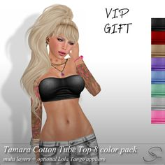 Stellar Tamara Cotton Tube Tops - VIP gift | Flickr - Photo Sharing!
