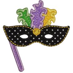 Mardi Gras Mask Onesie or Toddler Shirt by babylovecustoms on Etsy, $14.00