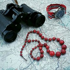 #maps #necklace #coral #watch #mappadeltesoro #summer2016
