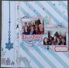 Hi there, our last Southern Girls challenge for the year is All that Glitters. Of course I had to do a Xmas layout. My Scrapbook, Scrapbook Layouts, Scrapbooking, Craft Projects, Craft Ideas, Southern Girls, Christmas Scrapbook, All That Glitters, A Christmas Story