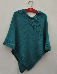 There is an English version of this poncho on Ravelry