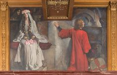 X. Sir Galahad wedded to Blanchefleur - Edwin Austin Abbey ( 1852 – 1911)