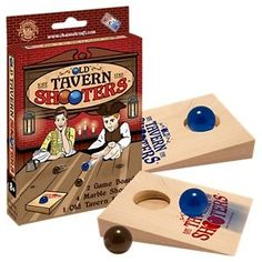 Channel Craft Old Tavern Shooters Game Wood Games, Wooden Board Games, Game Boards, Top Games For Kids, Washer Toss Game, Wooden Ramp, Diy Yard Games, American Games, Bar Games