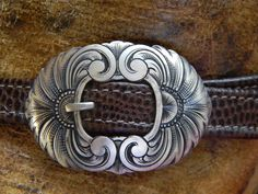 Custom sterling silver buckle for a pair of handmade mules....one two bukcle my shoe