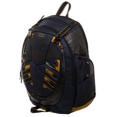 b3acf5284a6 DC Batman Backpack Built Up DC Backpack Inspired by Batman – Nerdco Black  Backpack