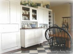 The Country Farm Home: The Farmhouse Keeping Room Is Revealed