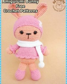 Hello ladies amigurumi related to each other I continue to share with you beautiful recipes. Cute colorful amigurumi crochet bunny pattern you will love it. Crochet Bunny Pattern, Crochet Patterns Amigurumi, Amigurumi Doll, Cute Crochet, Crochet Dolls, Crochet Ideas, Crochet Baby, Knitted Teddy Bear, Cute Bunny