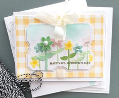 Happy St. Patrick's Day Card by Danielle Flanders for Papertrey Ink (February 2016)