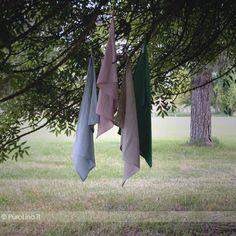 Kitcken Towels 100% linen stone washed  www.purolino.it