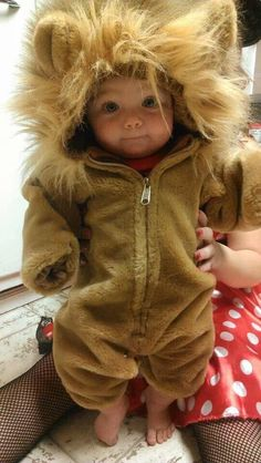 Rare photo of a baby lion