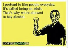 Pretend to be an adult