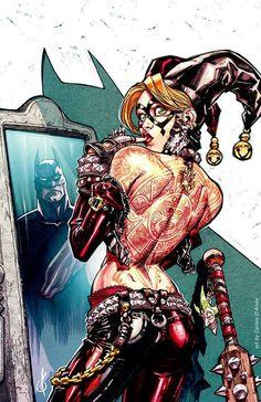 Harley Quinn by Carlos D'AndaWerks