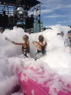 Go to a foam rave. Am I too old for this now?