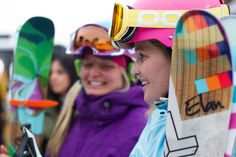 Elan Skis on Aspen Highlands Snowboarding Style, Ski And Snowboard, Elan Ski, Ski Bunnies, Bunny, Living In Colorado, Girls Be Like, Sport Fashion, Designing Women