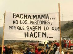 Photo - NeoMexicanismos pachamama do not forgive them for they know what they do