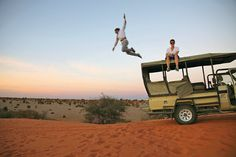 LEAP INTO THE UNKNOWN Casey Neistat, jumping after a wildlife tour in Namibia, will likely end up in the Guinness Book of World Records in a. Casey Neistat, Lets Get Lost, Adventure Is Out There, Ny Times, Movie Stars, Tv Shows, Wanderlust, Journey, Singer
