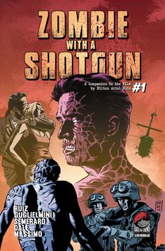 Cover of Zombie with a Shotgun #1  #Comicbook #zombie #shotgun #indiecomics #indiefilm