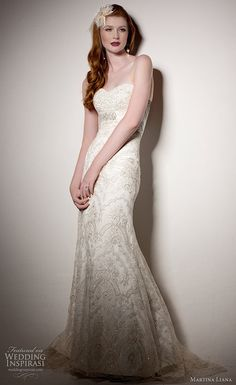 Martina Liana wedding gown 2011 collection