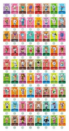 Animal Crossing Amiibo Card Discover new friends Keywords: High-Quality Mini Animal Crossing NFC Game Cards Playing Cards Exquisite Mini Cards 72pcs Ntag215 NS Switch WiiU 3DS /3DS, animal crossing new horizons amiibo cards, animal crossing amiibo cards Walmart, animal crossing amiibo cards series 3, animal crossing amiibo cards full set, how to make animal crossing amiibo cards, animal crossing amiibo cards target, animal crossing amiibo cards lot, animal crossing amiibo cards series 2, ... Wii U, Animal Crossing Welcome Amiibo, Nintendo Switch Accessories, Happy Home Designer, Go Camping, Camping Site, Card Games, Game Cards