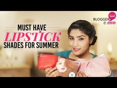 Top 10 Lipsticks for this Summer + GIVEAWAY | Shreya Jain - YouTube