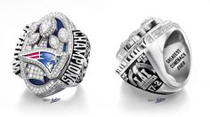 """The new New England Patriots Super Bowl rings are engraved with the phrase """"greatest comeback ever"""" and each has exactly 283 diamonds in reference to the Atlanta Falcons leading 28-3 at one point."""