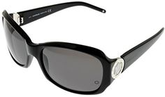 Mont Blanc Sunglasses Women Butterfly - Silver