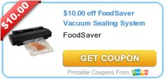 Today's new printable coupons from coupons.com!  $10 coupon for the FoodSaver!  Great way to save on groceries! - http://www.stacyssavings.com/todays-new-coupons-com-printable-coupons-76/
