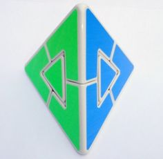 Pyraminx Duo White