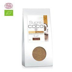 Azúcar de coco no refinado - Paquete de 200g Comptoirs & Compagnies http://amzn.to/1zx4tOC #azúcardecoco #coco #salud