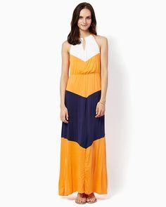 charming charlie | Breezy Colorblock Maxi Dress | UPC: 3000724986 #charmingcharlie