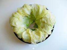 Λάχανο για λαχανοντολμάδες στην κατάψυξη Cabbage, Canning, Vegetables, Recipes, Food, Meal, Veggies, Rezepte, Essen