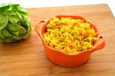 אורז עם גזר, קישואים ועדשים - מתכונים בעשר דקות