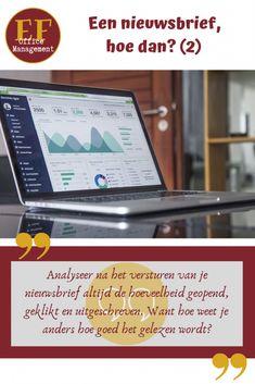Een nieuwsbrief, hoe dan? (2) | EF Office Management Auto Entrepreneur, Management, Marketing, Blog, Teamwork, Dan, Mathematical Analysis, Blogging